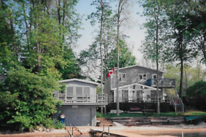 Large Lake Simcoe Cottage with Sandy Beach Available!