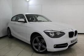 2014 64 BMW 1 SERIES 1.6 116I SPORT 3DR 135 BHP