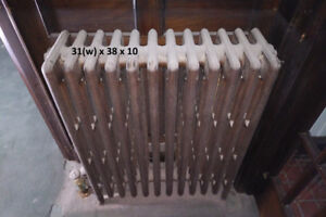 Vintage Cast Iron Hot Water Radiator - Various Sizes (9)