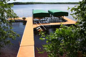 Boat Lift / Hoist - FLOE 5000lb w/ 28' Canopy