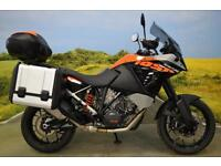 KTM 1050 Adventure 2015 **PANNIERS, TOP-BOX, ABS, TRACTION, HAND GUARDS**