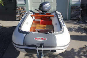 Inflatable Boat with 25 HP 4-stroke Yamaha motor