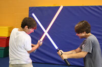 Lightsaber duelling and combat academy