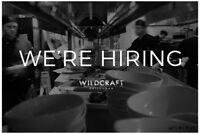 Attn Line Cooks! Join the Wildcraft Team!