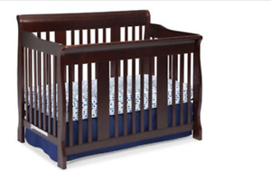 4 in 1  Tuscany crib , dresser and more