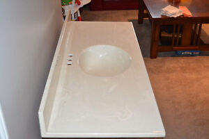Bathroom vanity top.  ( Please note new e-mail )