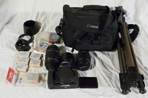Canon T4I / 650D Camera, lenses and more