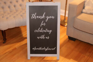 Wedding Signs - Print your own message