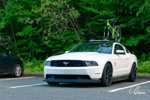 2011 Ford Mustang V6 Premium blanche