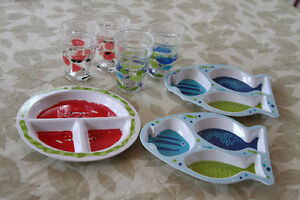 fun plastic dishes