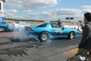1/8th mile drag car