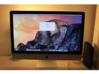 """IMac mid 2010 27"""" 2.93ghz i7. Graphics card faulty"""