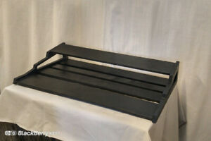 PREMIUM TWO-TIER PEDALBOARDS FOR GUITARISTS!