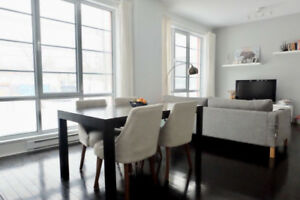 Lovely St-Henri condo on Lachine Canal (near Atwater market!)