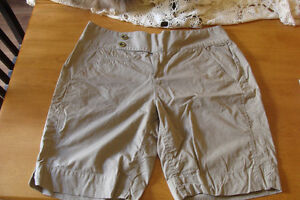 Route 66 beige shorts