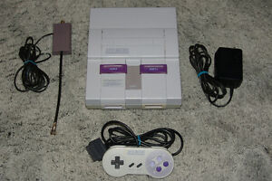SNES System, 1 Controller & 1 Game