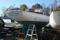 28' Pearson Triton Project Sailboat