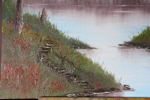 """Landscape painting 30"""" x 24"""" West Island Greater Montréal image 3"""