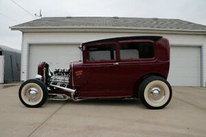 "1931 FORD MODEL A TUDOR ""TRADITIONAL HOTROD"""
