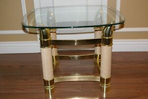 GLASS END TABLE West Island Greater Montréal image 2