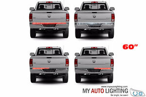 Waterproof 60 Inch Red/White Tailgate LED Strip Lights