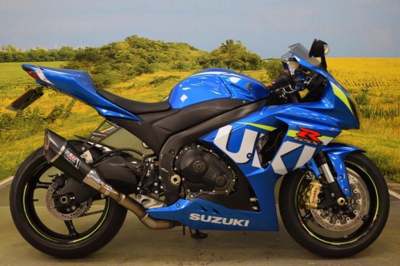 suzuki gsxr 1000 2015 moto gp colour scheme yoshimura exhaust in cannock staffordshire. Black Bedroom Furniture Sets. Home Design Ideas