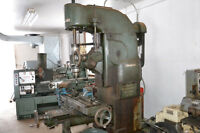 Boring Mill; Index Head and Turn Table