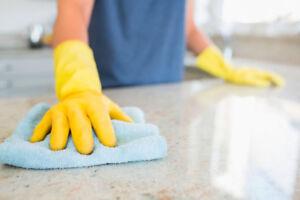 Cleaners needed as housekeepers.