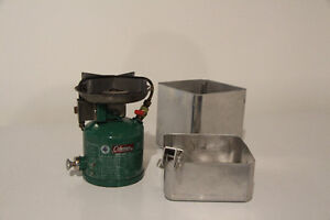 Portable Coleman Stove with case