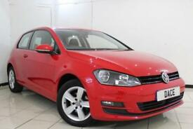 2015 15 VOLKSWAGEN GOLF 1.6 MATCH TDI BLUEMOTION TECHNOLOGY 3DR 103 BHP DIESEL