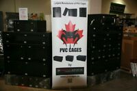 pvc cages et expo display