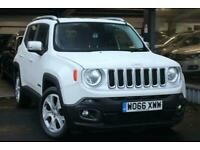 2017 Jeep Renegade 1.6L M-JET LIMITED 5d 118 BHP Estate Diesel Manual