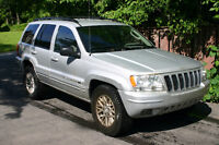 2004 Jeep Grand Cherokee Limited. SUV, Crossover
