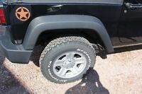 """16"""" Jeep Wrangler rims  EXCELLENT CONDITION like new"""