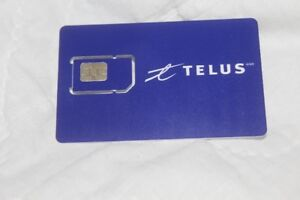 TELUS SIM CARD... DELIVERY TO HALIFAX