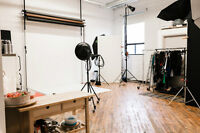 High-End Photography Studio Available for Shared Rent