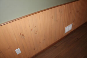 Wood Paneling & Door Trim
