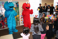 Does your child love ELMO and COOKIE MONSTER?!