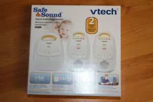 Digital Audio Baby Monitor - Safe and Sound V-Tech