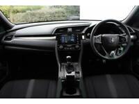 2019 Honda Civic 1.0 VTEC Turbo 126 SR 5dr Hatchback Petrol Manual