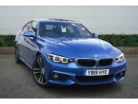 2019 BMW 4 Series 420i M Sport 5dr Auto [Pro Pack] Hatchback Automatic Hatchback