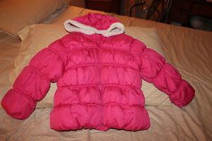 4T Old Navy girl's pink winter coat