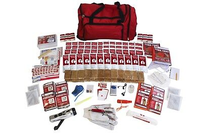 4 Person Elite Survival Kit CAMPING HIKING HUNTING DISASTER BUG OUT ZOMBIE