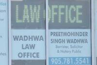 LAW OFFICE(Immigration, Real Estate & Litigation)Ph: 9057815541