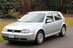2003 Volkswagen Golf TDI Diesel 5 Speed Manual