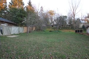 Residential Building Lot in Elora