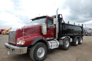 2010 INTERNATIONAL 5900I SBA Paystar Dump Truck (Tri/A) for SALE