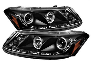 HONDA Accord 4dr Spyder HID Projector Headlights for 2008-2011