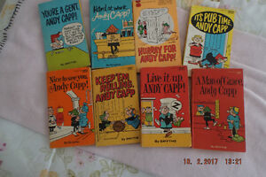 Andy Capp Comic Books.