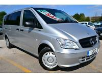 2012 Mercedes Benz Vito 113 CDI Traveliner Extra Long 8 Seat Mini Bus 5 door ...